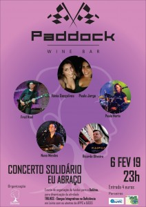 Cartaz Paddock Concerto Abraço